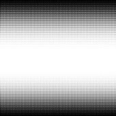 Abstract halftone black and white background — Stock Photo