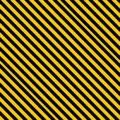 黄色と黒のラインとグランジ背景 — ストック写真
