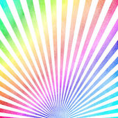 Multicolored vintage ray pattern background — Stock Photo