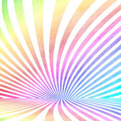 Multicolored vintage ray pattern room background — 图库照片