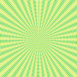 Retro green stripes, circles or lines in target style illustrati — Stock Photo #40955575