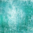 Stock Photo: Turquoise gunge distressed background