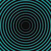 Turquoise dark line circle background — Стоковое фото