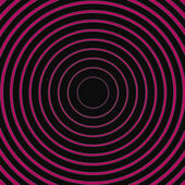 Pink dark line circle background — Photo