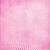 Pink vintage stripe room background — Stock Photo