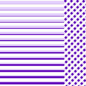 Purple cloth background with lines for sample text — Stock Photo