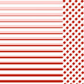 Tło czerwone tkaniny z linii przykładowy tekst — Zdjęcie stockowe
