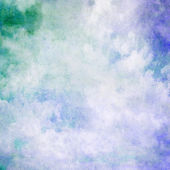 Blue abstract cloud background — Stock Photo