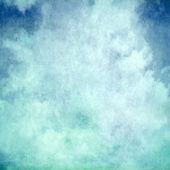 Blue cloud pastel background — Stock Photo