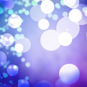 Blue pastel bokeh light texture background — Stockfoto