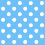 Painted White Polka Dot on light blue background — Stock Photo #41890395