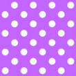 Painted White Polka Dot on purple background — Stock Photo #41890545