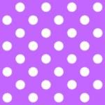 Painted White Polka Dot on purple background — Stock Photo #41890545