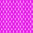 Purple background with white polka dots pattern — Stock Photo