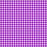 Purple Polka Dot pattern background — Stock Photo #41898085