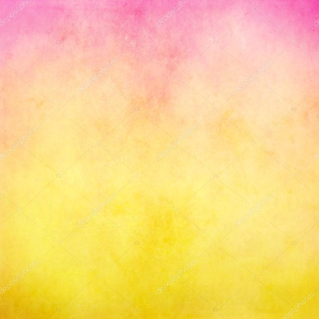 pink and yellow pastel background � stock photo