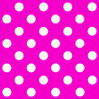 White Polka Dot on purple background — Stock Photo