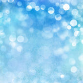 Turquoise pastel bokeh texture background — Photo