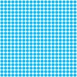 Turquoise Polka Dot pattern background — Stock Photo