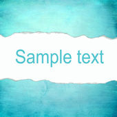 Abstract cyan background with blank space for text — Photo