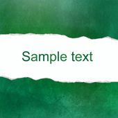 Green abstract background with space for text — Stock Photo