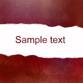 Red abstract background with space for text — Stok fotoğraf