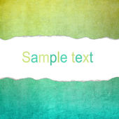 Yellow and cyan concrete background texture with blank space for — Stock Photo