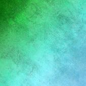 Green and turquoise canvas background — Photo