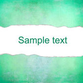 Green pastel background with space for text — Foto de Stock