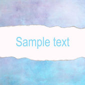 Light turquoise vintage background with space for text — Stock Photo