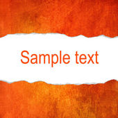 Orange grunge background with space for text — Foto Stock
