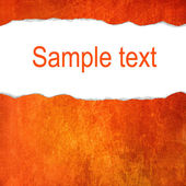Orange grunge background with space for text — Stock Photo