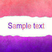 Pink and purple canvas background with space for text — Foto Stock