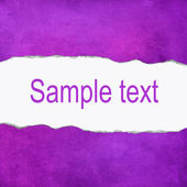 Purple abstract background with space for text — Stock Photo