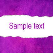 Fond grunge pourpre avec un espace pour le texte — Photo