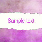 Purple vintage background with space for text — Stock Photo