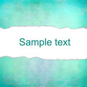 Turquoise pastel background with space for text — Stock Photo
