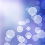 Blue pastel bokeh background — Stock Photo