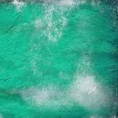 Cyan concrete wall background — Stock Photo