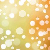 Orange light bokeh background — Stock Photo