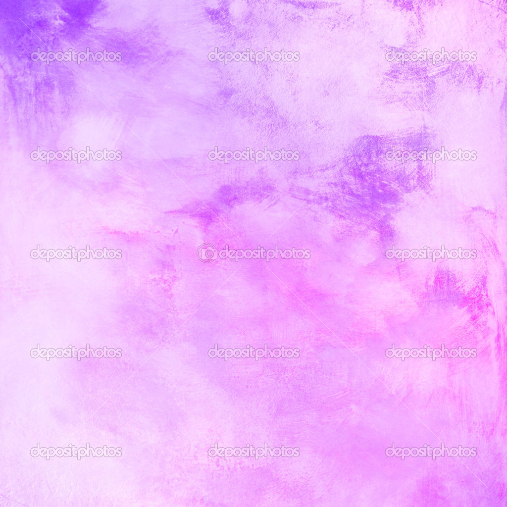 Pink Purple And Blue Paint