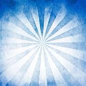 Blue rays blank background — Stock Photo