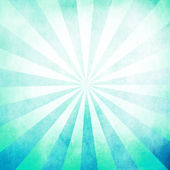 Cyan rays blank background texture — Photo