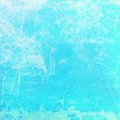 Distressed cyan background — Stock Photo