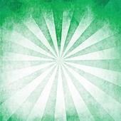 Green rays blank background — Stock Photo
