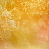 Orange scratched background — Stock Photo