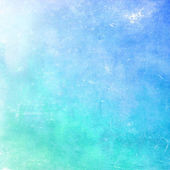 Distressed cyan pastel background — Stock Photo