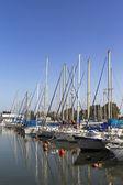 Yachts at the berth — Stock Photo
