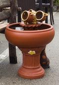 Ceramic pitcher — Stock Photo