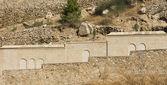 монастырь святого георгия забор — Стоковое фото